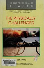 Cover of: The physically challenged | Don Nardo