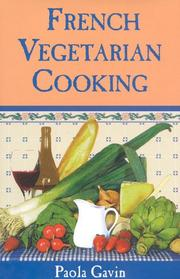 French vegetarian cooking