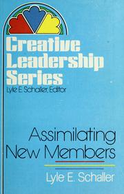 Cover of: Assimilating new members