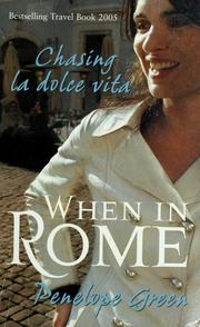 Cover of: When in Rome | Penelope Green