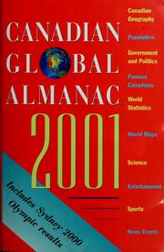 Cover of: Canadian global almanac |