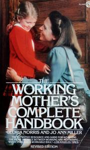 Cover of: The working mother