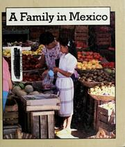 Cover of: A family in Mexico | Tom Moran