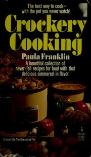 Cover of: crockery cooking by paula franklin