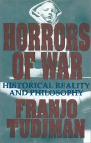 Cover of: Horrors of war