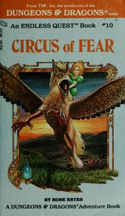 Cover of: Circus of Fear by Rose Estes