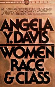 Cover of: Women, race & class | Angela Davis