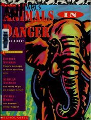 Cover of: Animals in danger theme digest |