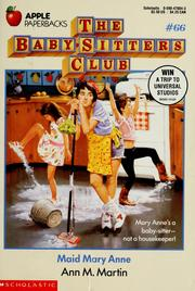 Cover of: Maid Mary Anne (The Baby-Sitters Club #66) | Ann M. Martin