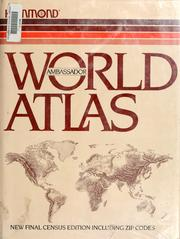 Cover of: Hammond ambassador world atlas | Hammond Incorporated