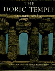 The Doric temple by Elisabeth Ayrton