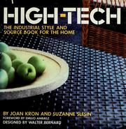 Cover of: High-tech | Joan Kron