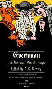Cover of: Everyman and medieval miracle plays