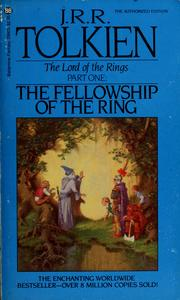 Fellowship of the ring book cover