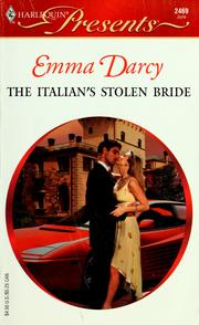 Cover of: The Italian's Stolen Bride