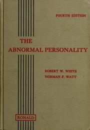 Cover of: The abnormal personality | Robert Winthrop White