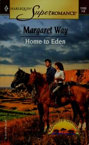 Cover of: Home to Eden | Margaret Way