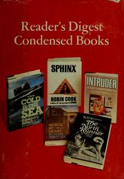 Cover of: Reader's digest condensed books | Robin Cook