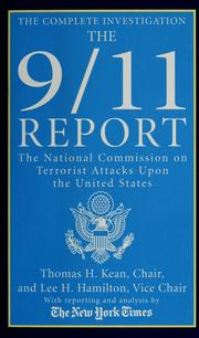 Cover of: The 9/11 report | National Commission on Terrorist Attacks upon the United States