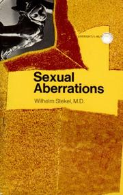 Cover of: Sexual Aberrations (Sexual Aberrations)