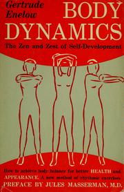 Cover of: Body dynamics by Gertrude Enelow