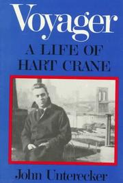 Cover of: Voyager: a life of Hart Crane