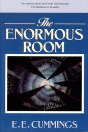 Cover of: The Enormous Room (The Cummings Typescript Editions)