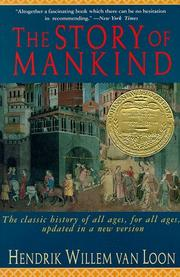 Cover of: The Story of Mankind (A Liveright Book)