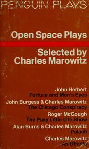 Cover of: Open space plays | Charles Marowitz