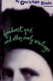 Cover of: Fernhurst, Q.E.D., and other early writings