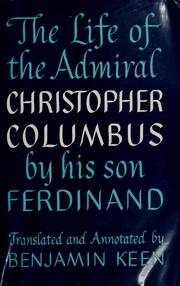 Cover of: The life of the admiral Christopher Columbus | Fernando ColГіn