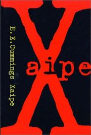 Cover of: Xaipe: seventy-one poems