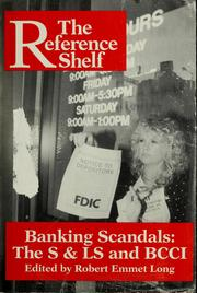 Cover of: Banking scandals | edited by Robert Emmet Long.