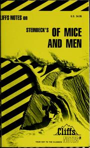 Cover of: Of mice and men | James Lamar Roberts