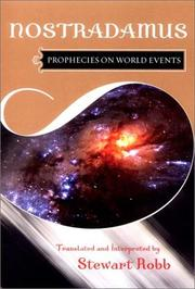 Cover of: Prophecies on World Events
