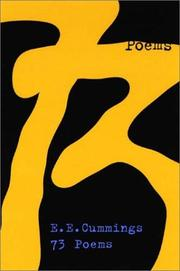 Cover of: 73 poems