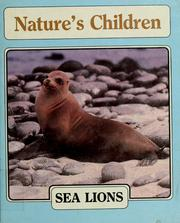 Cover of: Sea lions | Mark Shawver