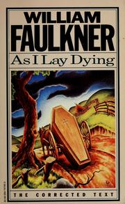 Cover of: As I Lay Dying