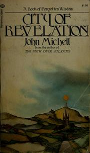 Cover of: City of revelation by John Michell