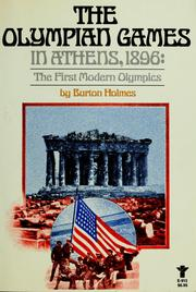 Cover of: The Olympian Games in Athens, 1896 | Burton Holmes