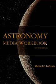 Cover of: Astronomy Media Workbook for the Cosmic Perspective the Essential Cosmic Perspective by Michael C. LoPresto