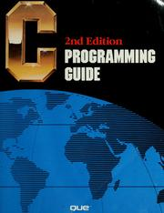 Cover of: C programming guide | Jack J. Purdum