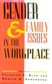 Cover of: Gender and family issues in the workplace |