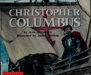 Cover of: Christopher Columbus | Ann McGovern