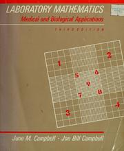 Cover of: Laboratory mathematics | June Mundy Campbell