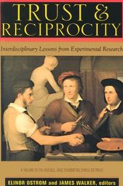 Cover of: Trust And Reciprocity
