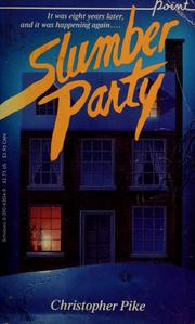 Slumber Party (Point Paperback)