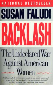 Cover of: Backlash | Susan Faludi