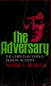 Cover of: The adversary | Mark I. Bubeck