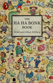 Cover of: The ha ha bonk book by Janet Ahlberg